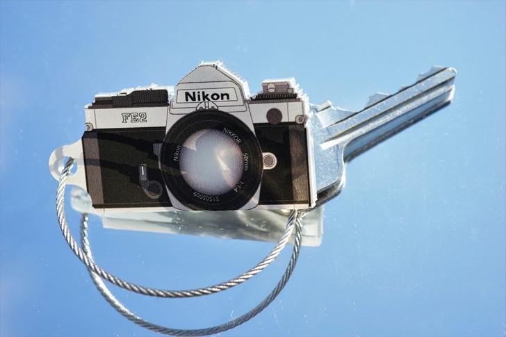 TIMFC Nikon FE-2 camera keyring