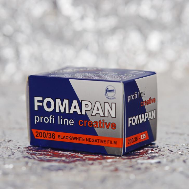 Foma Pan Creative 200 35mm film