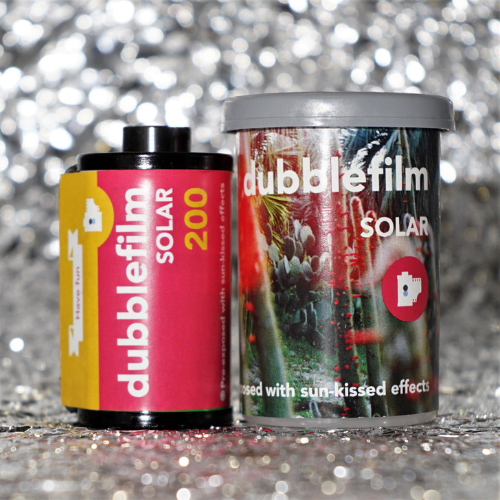 Dubblefilm Solar 35mm special effects film (36 exposures)