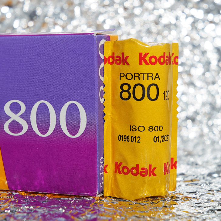 Kodak Portra 800 120 film