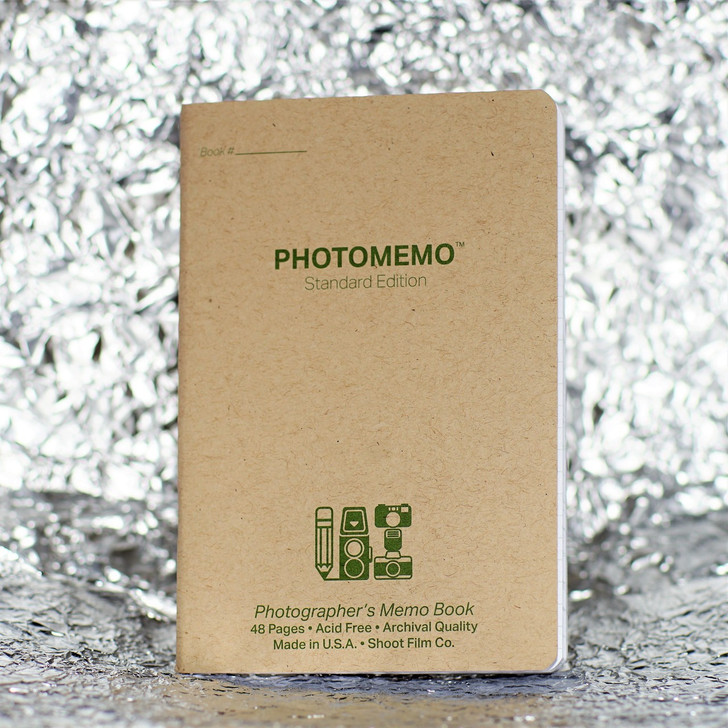 PhotoMemo Photographer's Memo Book