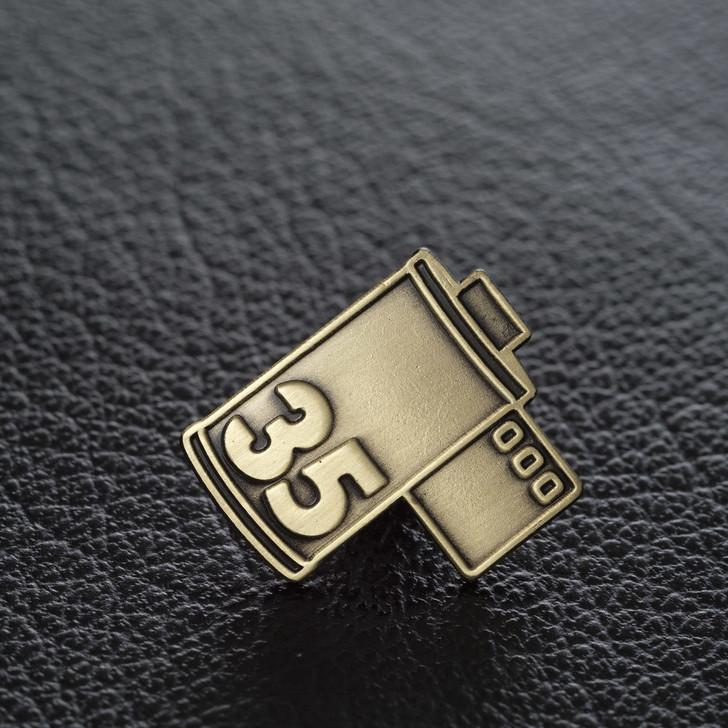 The Art of Film - 35mm film enamel pin