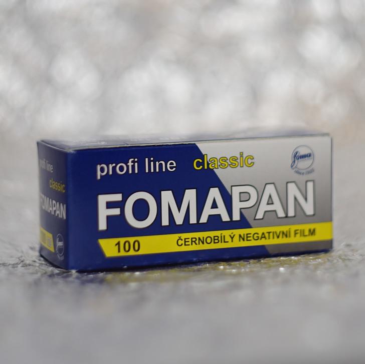 Foma Pan Classic 100 120 film