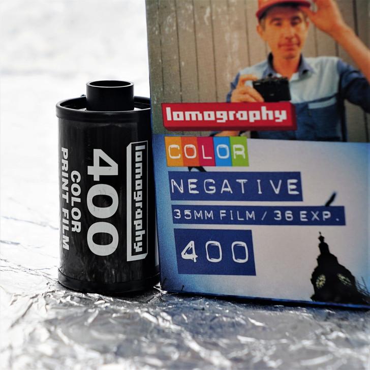 Lomography Color 400 35mm film