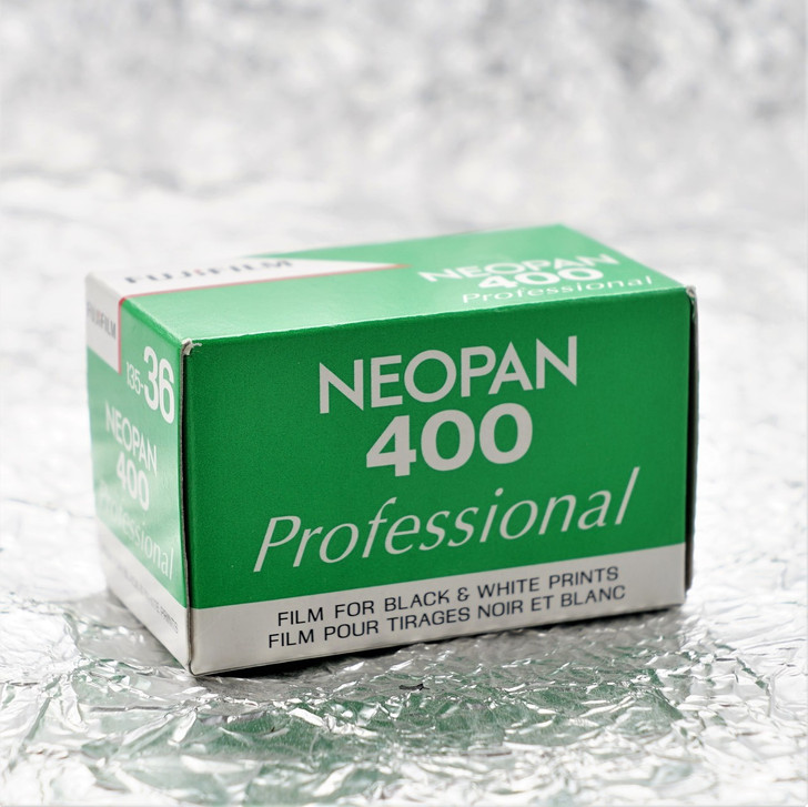 Fuji Neopan Professional 400 35mm film (expired)