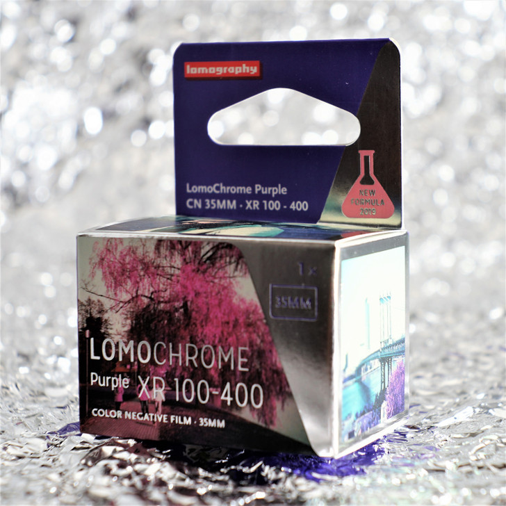Lomography LomoChrome Purple 35mm film (2019 New Formula)