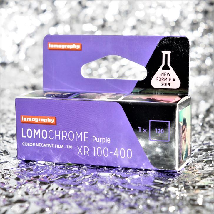 LomoChrome Purple 120 film (2019 NEW FORMULA)