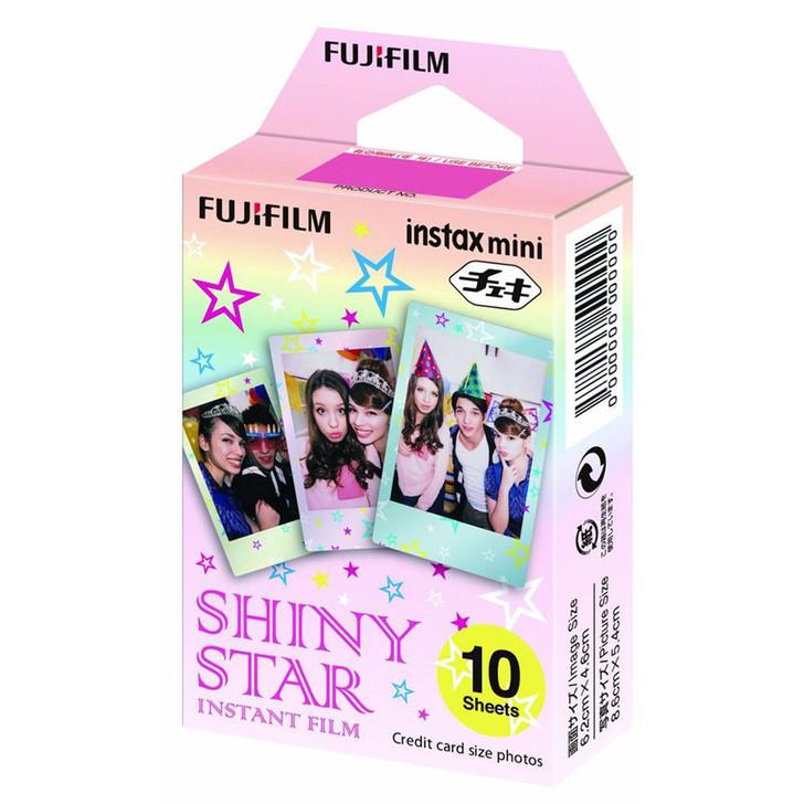 10 pieces of Fuji Instax Shiny Star frame film