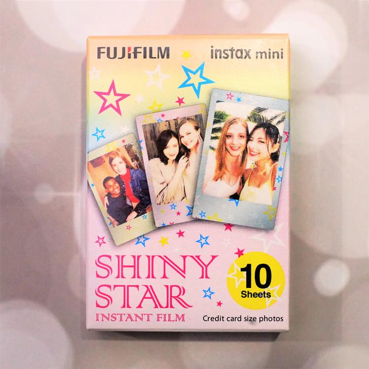 10 pieces of Fuji Instax Mini Shiny Star frame film