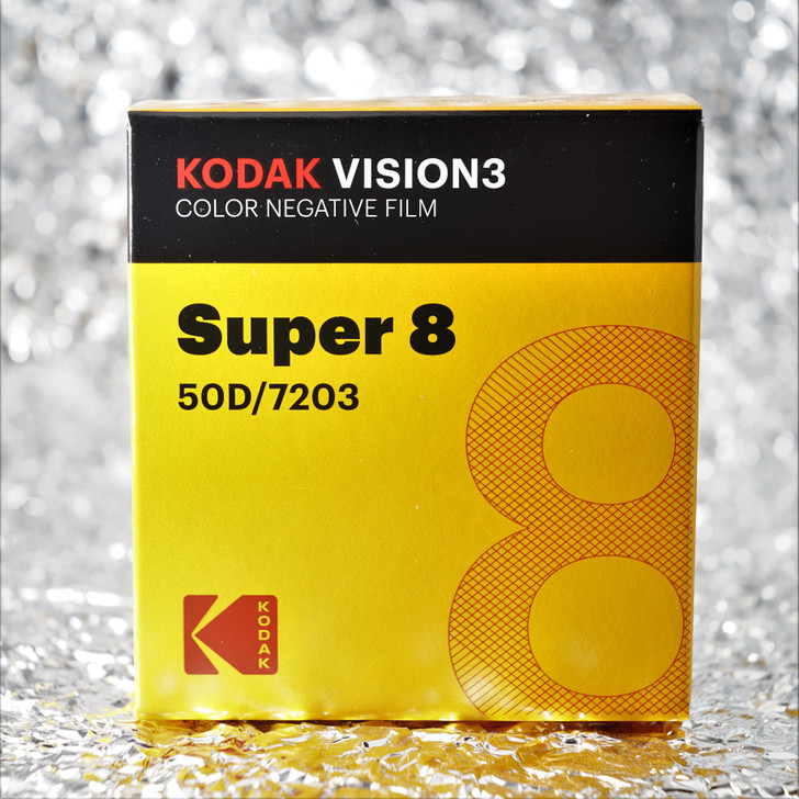 Kodak Super8 50D / 7203 Vision3 Color Negative film