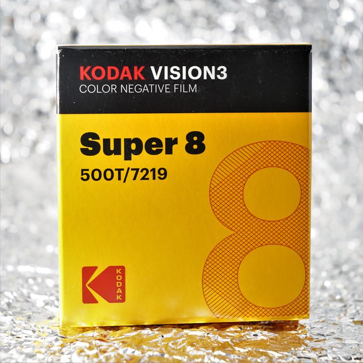 Kodak Super8 500T / 7219 Vision3 Color Negative film