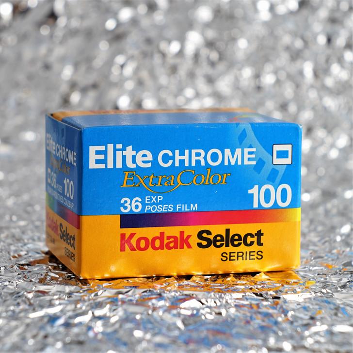 Kodak Elitechrome Extra Color (EBX) 100 36exp 35mm film (expired)