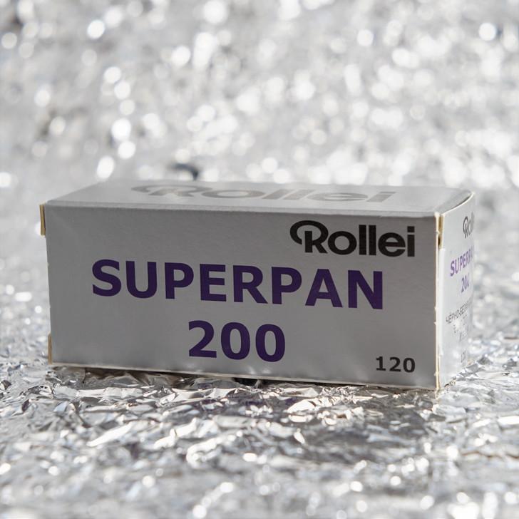 Rollei Superpan 200 120 film