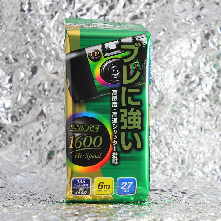 Fujifilm QuickSnap Simple Ace 1600 Hi-Speed disposable camera *27 exposures*