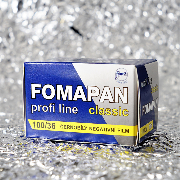 Foma Pan Classic 100 35mm film