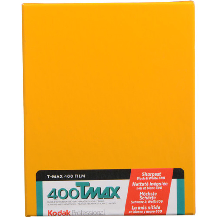 Kodak T-Max 400 4x5 Sheet film (10 sheets)
