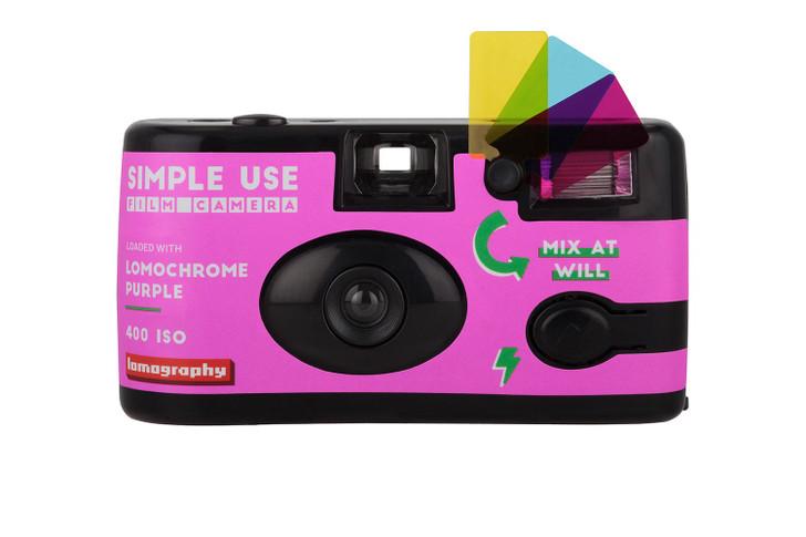 Lomography Lomochrome Purple Simple Use 400 REUSEABLE camera