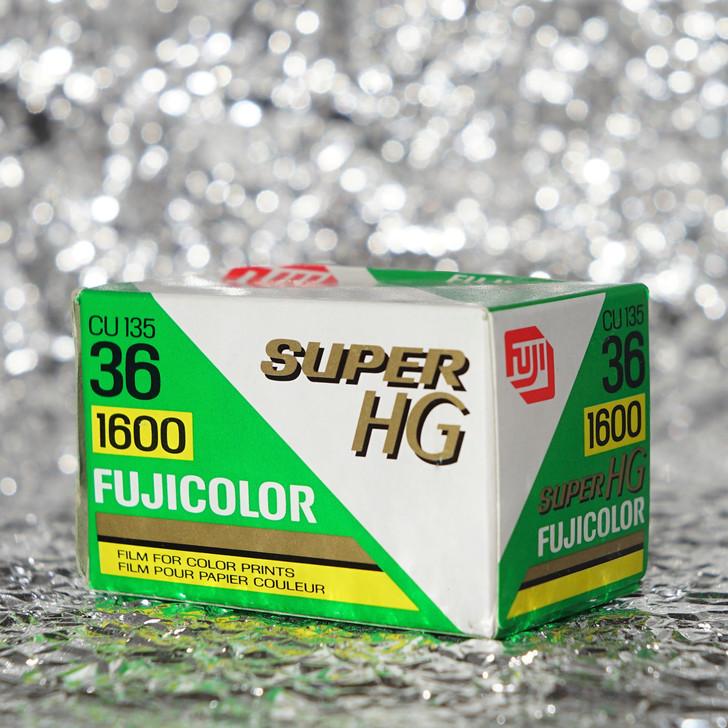 Fujicolor Super HG 1600 35mm film (expired)