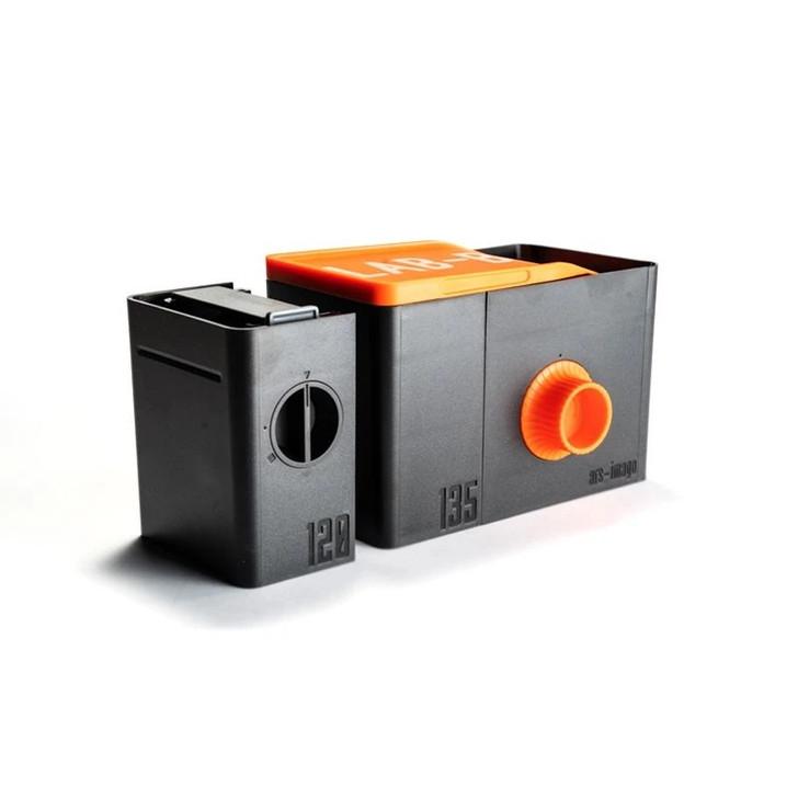 LAB-BOX Daylight Development Tank and Film Modules (35mm and 120) Orange Edition