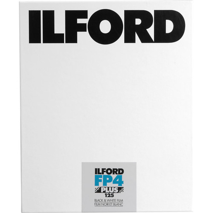 Ilford FP4 4x5 Sheet film (25 sheets)