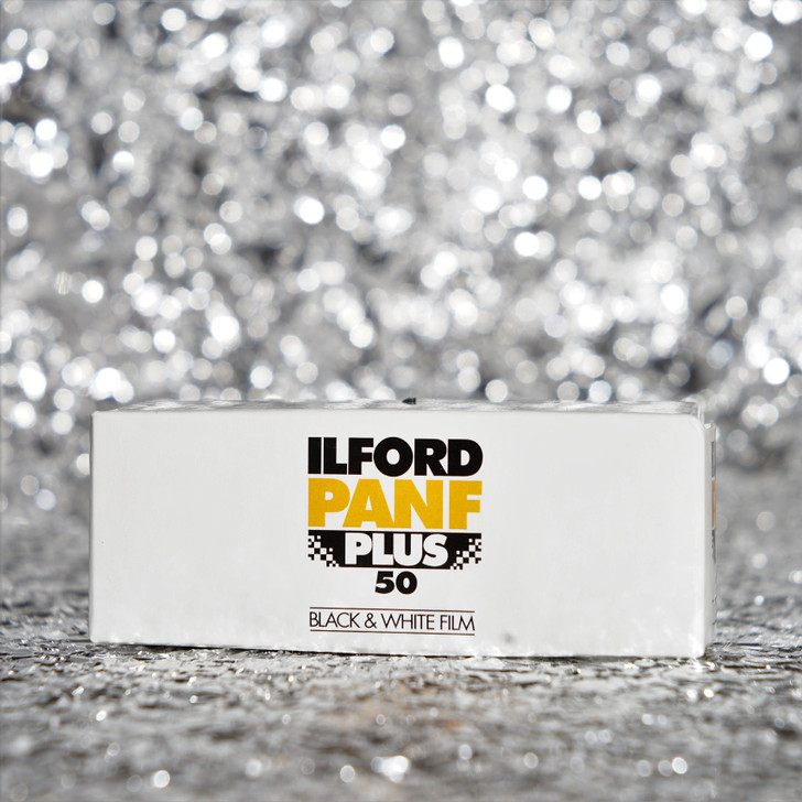 Ilford Pan-F Plus 50 120 black/white film
