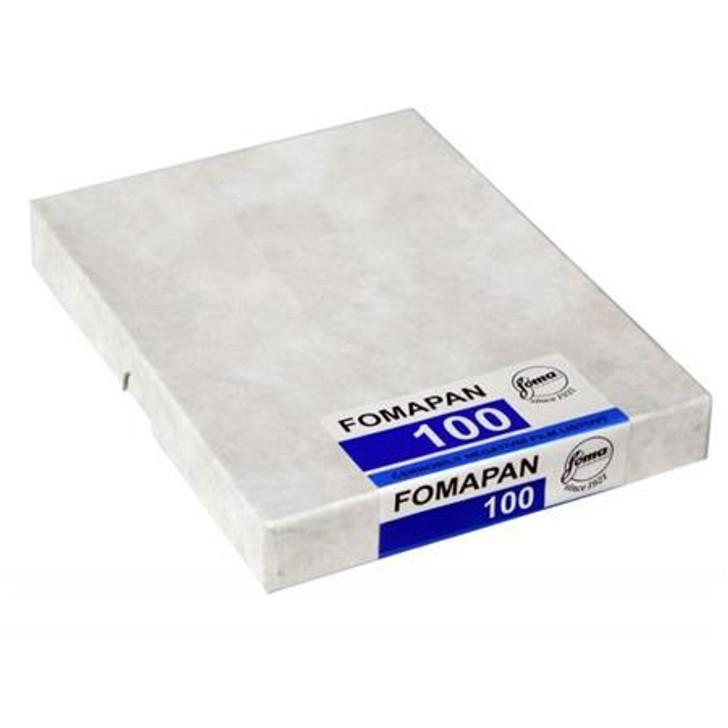 Fomapan 100 Classic 4x5 Sheet film (25 sheets)