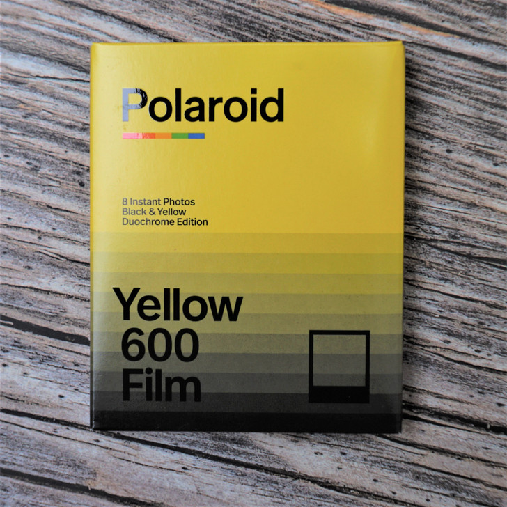 Polaroid Color Film for 600 Duochrome Yellow Edition