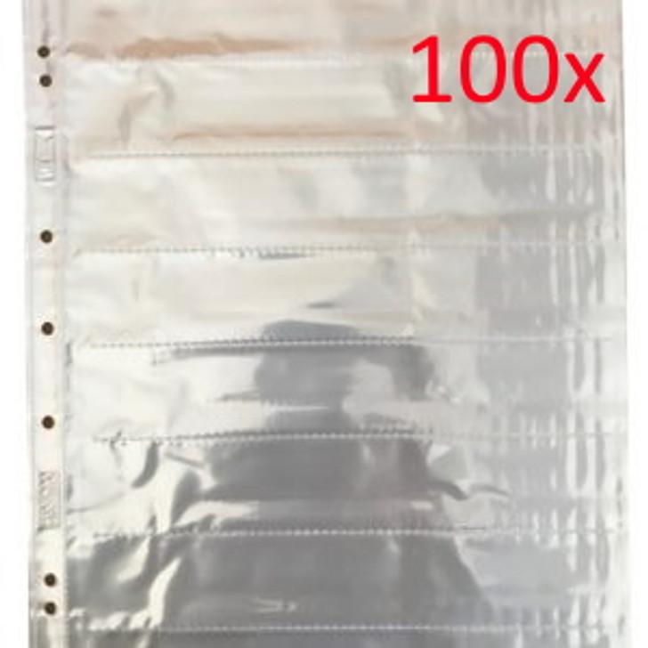 Albox Acid-Free 35mm Negative Pockets/Sleeves - 7 Strips (100 sheets)