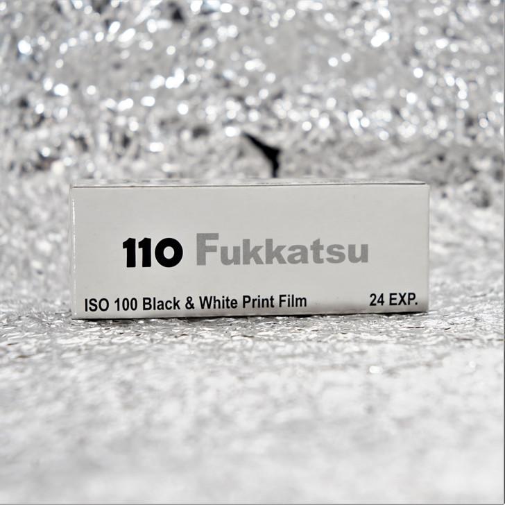 Fukkatsu 100 black/white 110 film