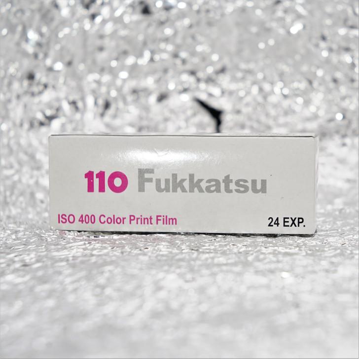 Fukkatsu 400 color negative 110 film