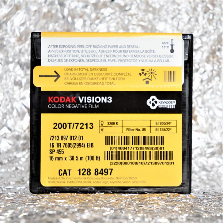 Kodak Vision3 200T / 7213 16mm 100ft (30m) film