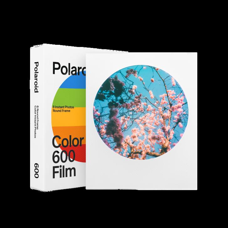 Polaroid COLOR FILM FOR POLAROID 600 Type (ROUND frame)
