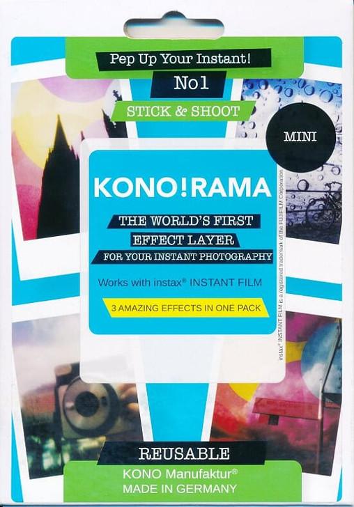 Fuji Instax Mini Film KONO! RAMA Instax Effect Layer No.1