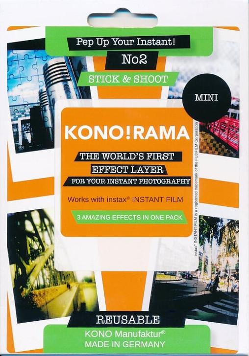 Fuji Instax Mini Film KONO! RAMA Instax Effect Layer No.2