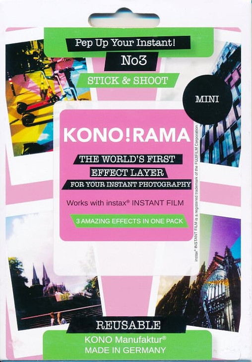 Fuji Instax Mini Film KONO! RAMA Instax Effect Layer No.3