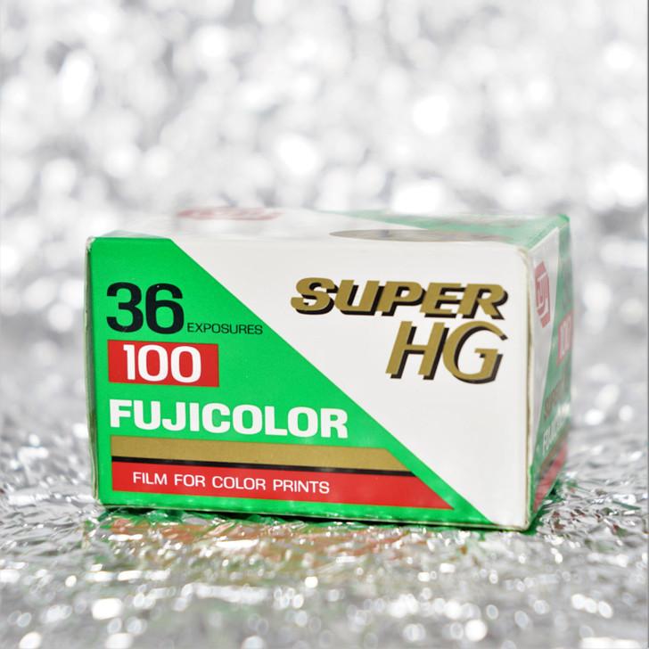 Fujicolor Super HG 100 35mm 36 exposures film (EXPIRED)