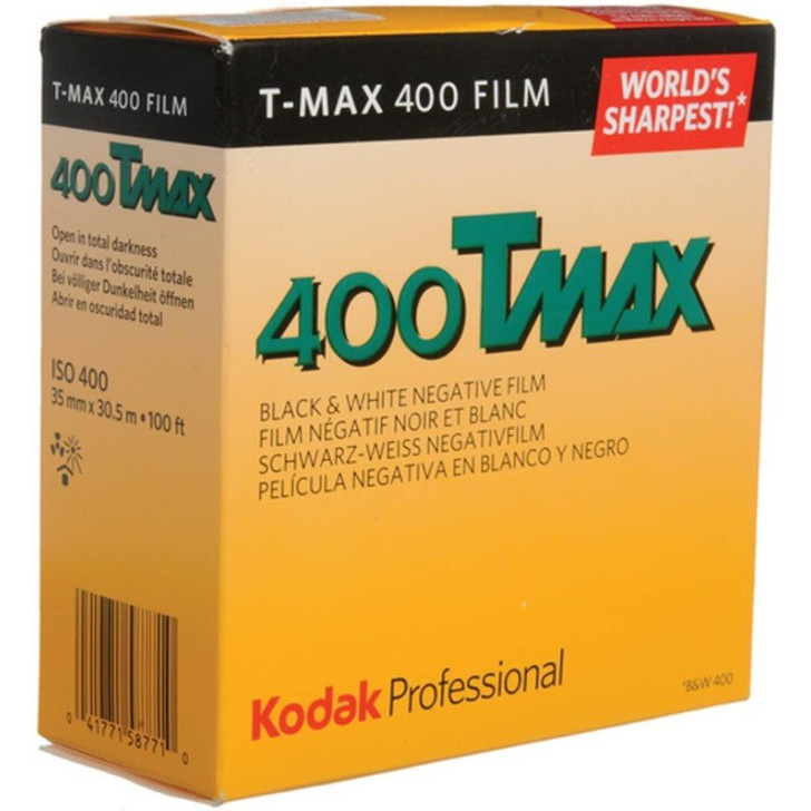 Kodak T-Max 400 35mm film - 100 feet bulk film