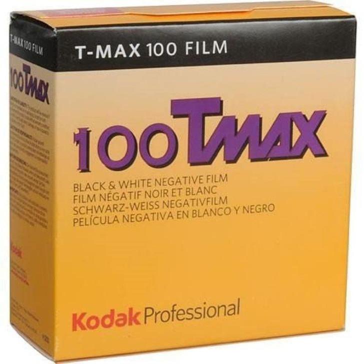 Kodak T-Max 100 35mm film - 100 feet bulk film