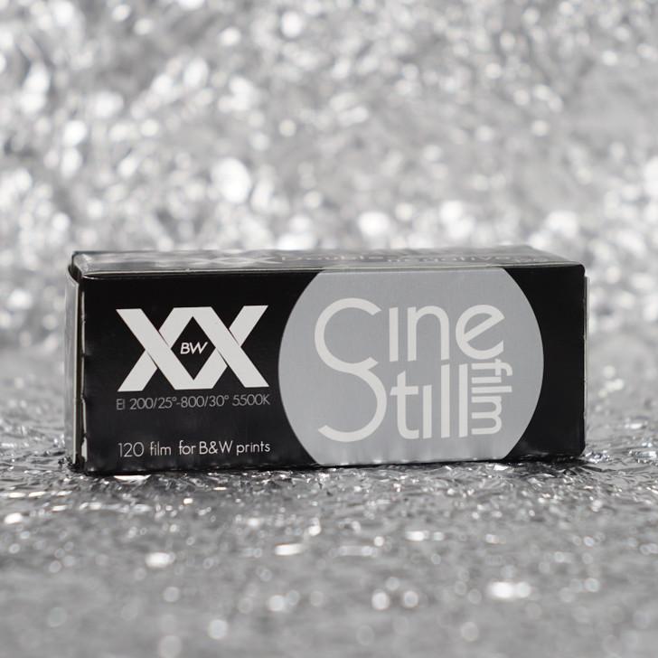 Cinestill BWxx Double-X black/white 120 film