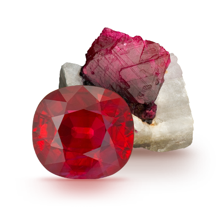 Ruby: Pigeon's Blood and Pomegranate Seeds