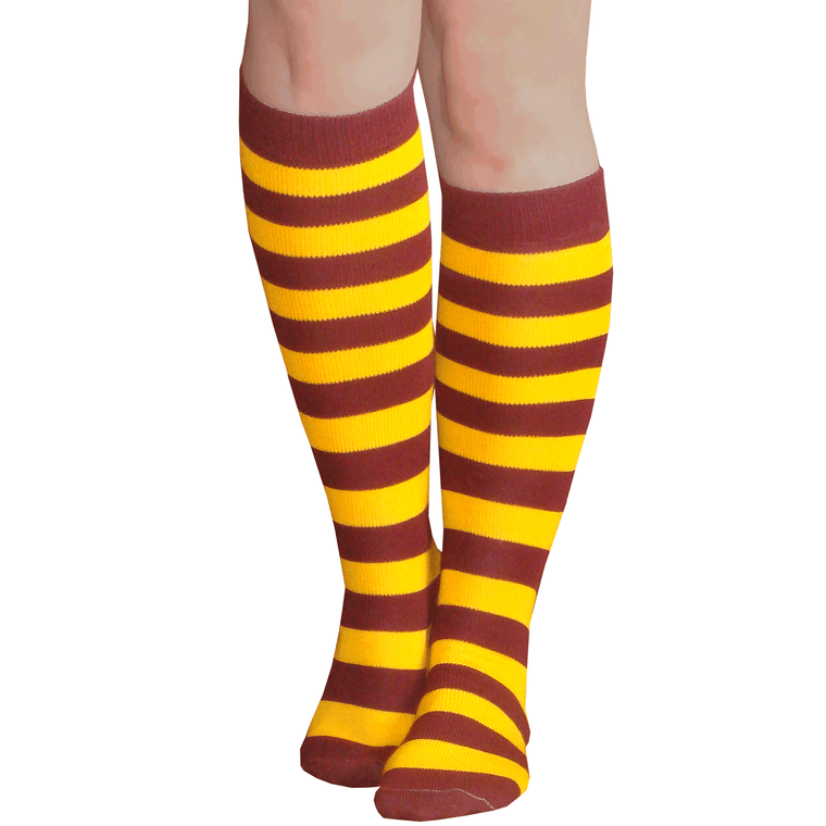 maroon gold striped