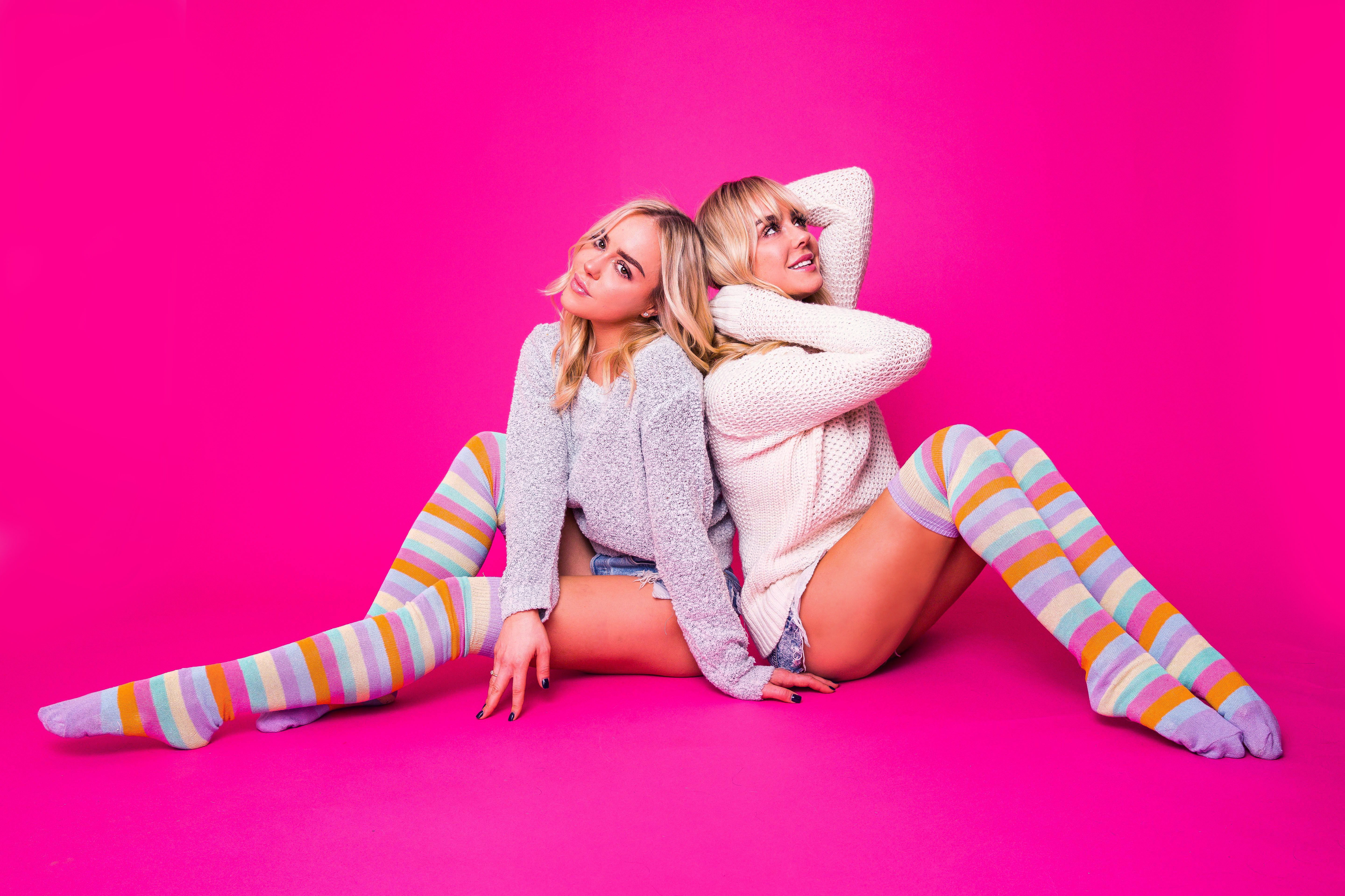 Pastel Thigh Highs - Made in USA