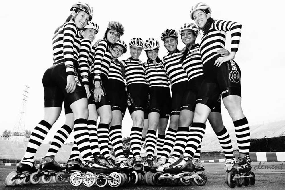 striped socks (skate team)