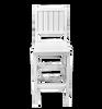 CAR_ _69-GBSC Garden Armless Counter Chair