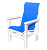 CAR_ _92-HBDC Sling Dining Chair/ high back