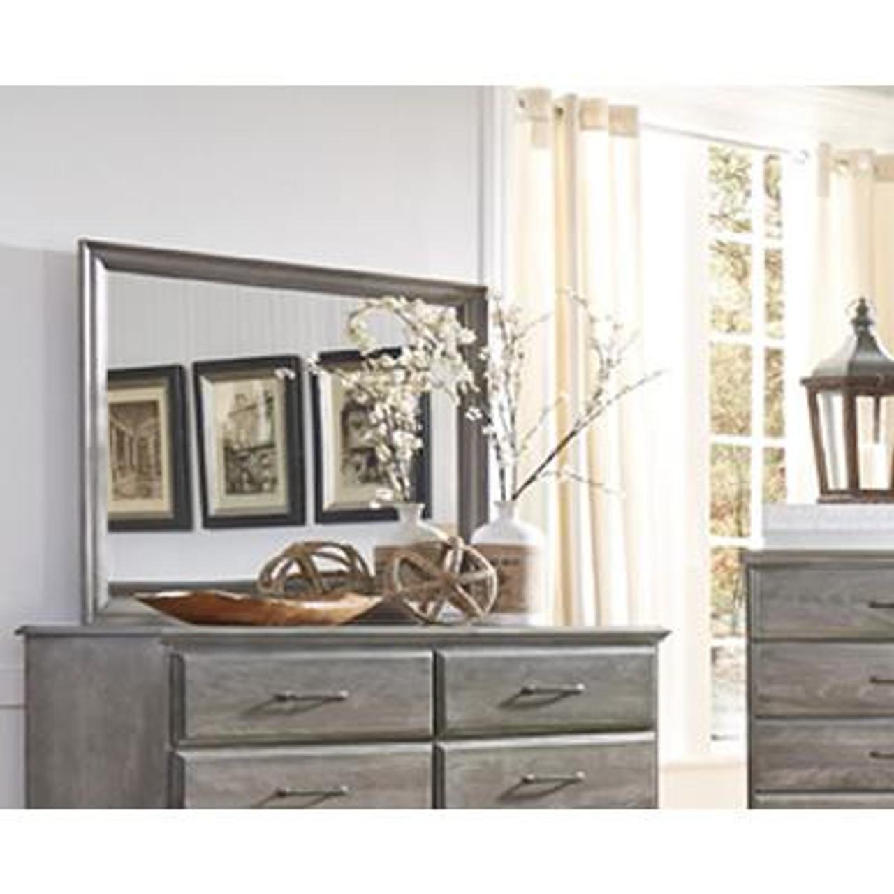 Vintage Grey Mirror - Manteo Furniture & Appliance