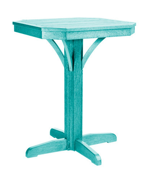 T36/C36-09 Turquoise Counter Height Set