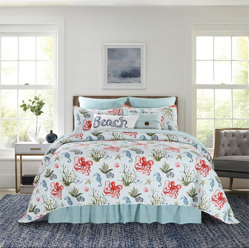 Behari Octopus Quilt Set