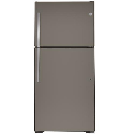 GE® 21.9 Cu. Ft. Top-Freezer Refrigerator - GTS22KMNRES