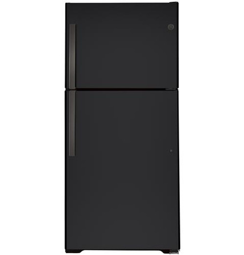 GE® 21.9 Cu. Ft. Top-Freezer Refrigerator - GTS22KMNRDS